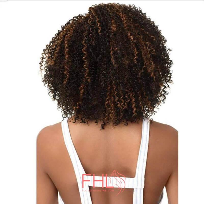 Outré Demi Perruque 4A Sizzle Spirale Half Wig