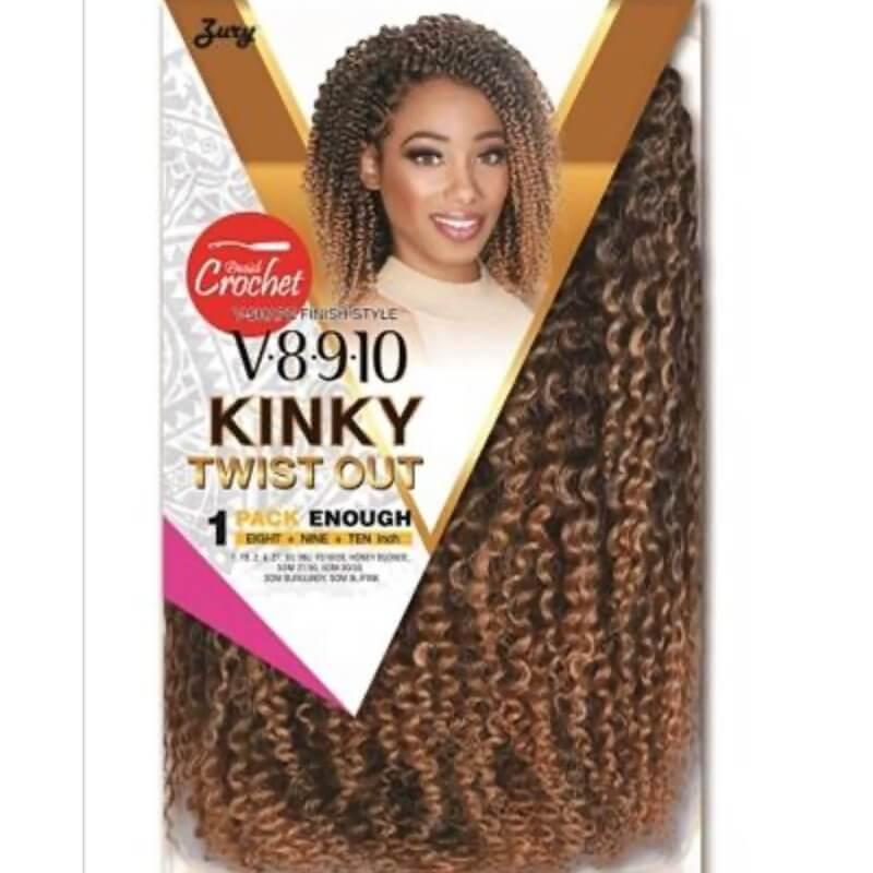 Zury Crochet Braid V8910 Kinky Twist Out