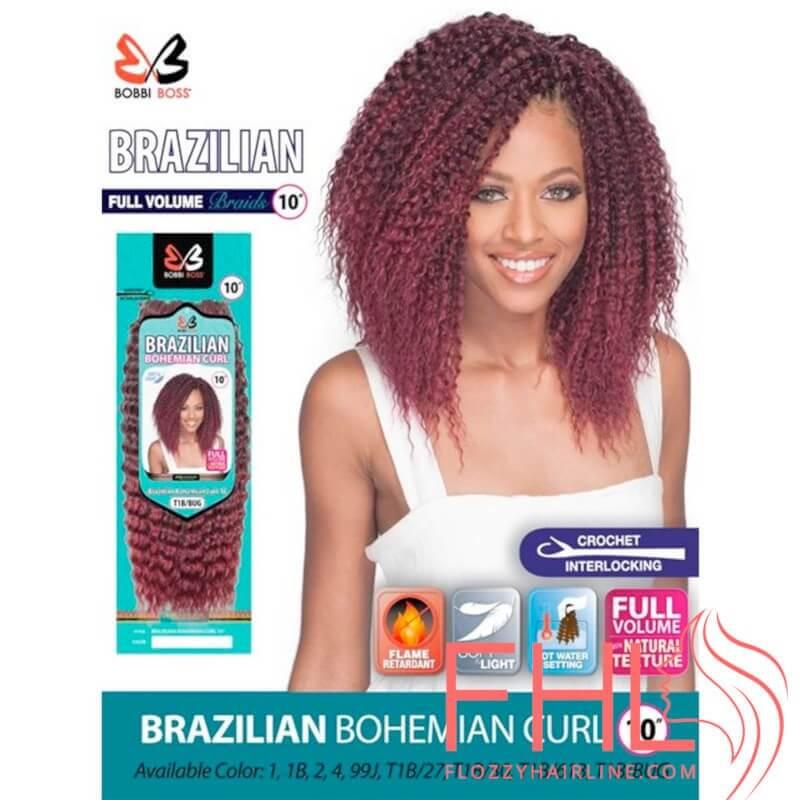 """Bobbi Boss Brazilian Bohemian Curl 10"""""""