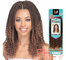 Bobbi Boss Crochet Senegal Twist Curly Tips 10""