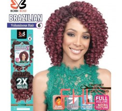 Bobbi Boss Brazilian 2X Baton Curl Braid 6""