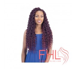 "Freetress Plumpy Curly Faux Loc 20"" - Crochet Braid"