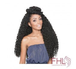Isis Afri Natural 3D Split Twist Cubic 20""