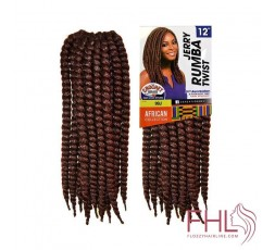 """Sensationnel African Collection Jerry Rumba Twist 12"""""""