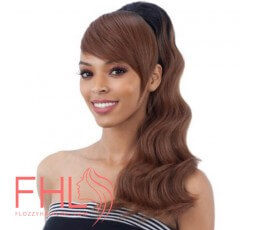 Freetress Postiche Loose Deep + Swoop Side Bang