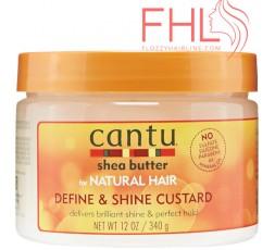 Cantu Shea Butter Define And Shine Custard 340g