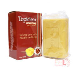 Topiclear Savon Lemon Exfoliating Soap