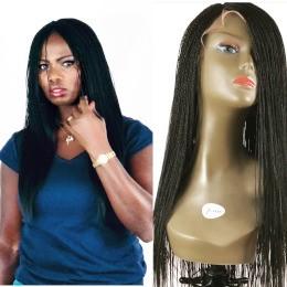 Senegalese Twist Million Braid Perruque fait main