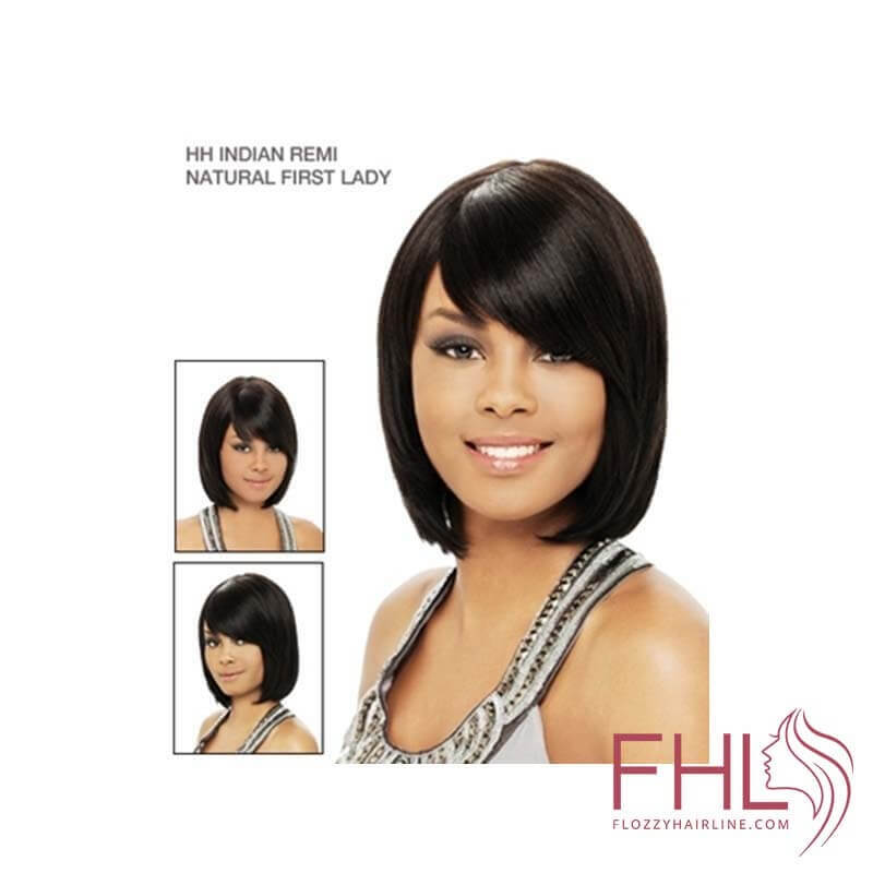 It's a Wig Indian Remi Perruque Natural First Lady