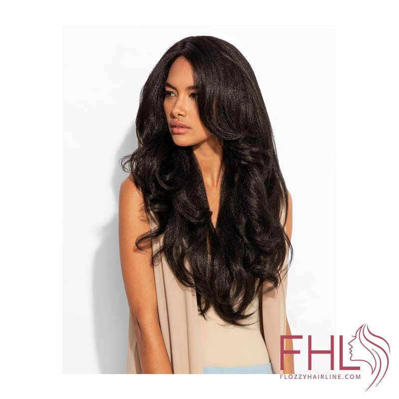 Feme Perruque Relaxed Blowout