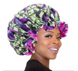 Bonnet de Nuit Wax Tissu Africain