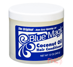 Blue Magic Organics Brillantine à Huile de Coco