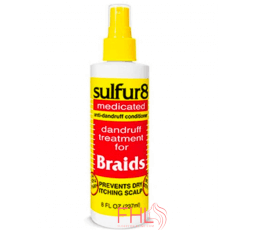 J Strickland Africa Sulfur Medicated Braid 356ml