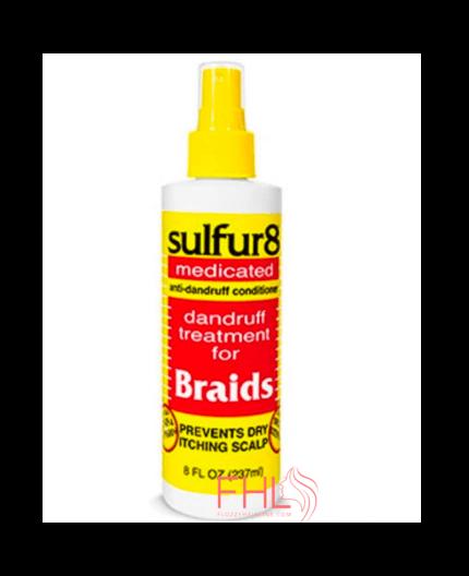 J Strickland Africa Sulfur Medicated Braid 356ml