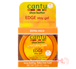 Cantu Extra Strong Hold Edge Stay Gel 64g
