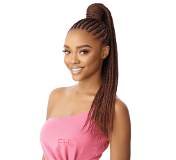 Outré Postiche Medium Box Braid Pretty Quick Wrap Pony