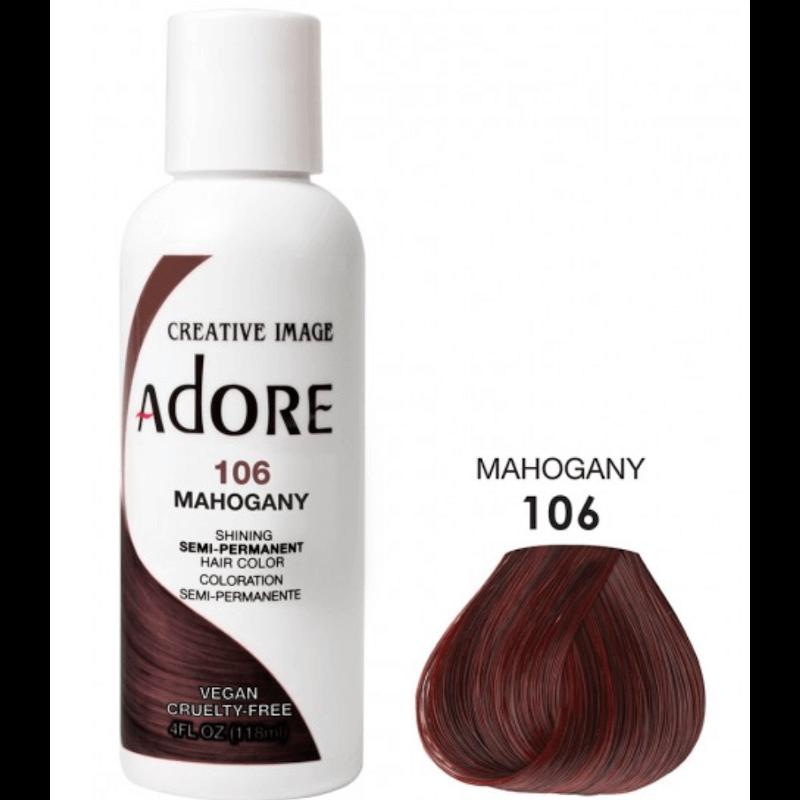 Adore Coloration Mahogany 106 Semi Permanente
