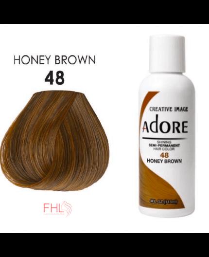 Adore Coloration Honey Brown 48 Semi Permanente