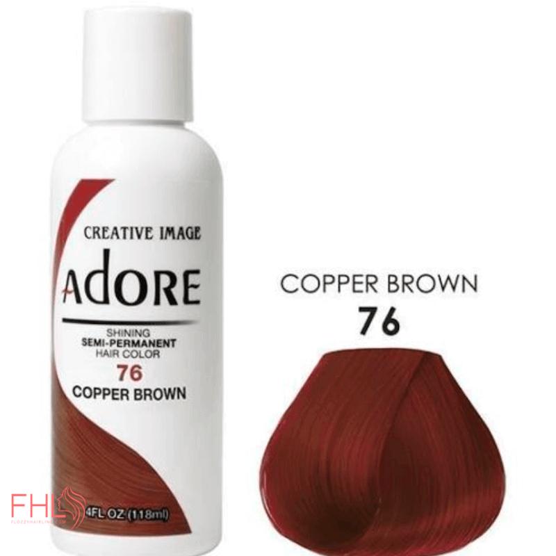 Adore Coloration Copper Brown 76 Semi Permanente