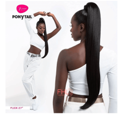 Feme Pony Wrap Postiche Flick