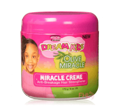 African Pride Kids Olive Miracle Creme 6oz