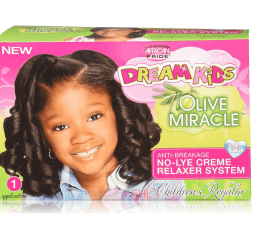 African Pride - Kids Défrisant Olive Miracle