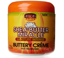 African Pride Shea Butter Buttery Crème 170g