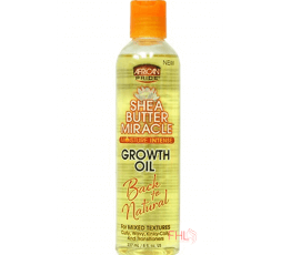 Shea Butter Miracle Growth Oil African Pride 6oz