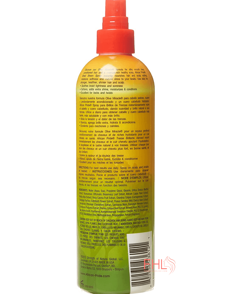 African Pride Braid Sheen Original Formula