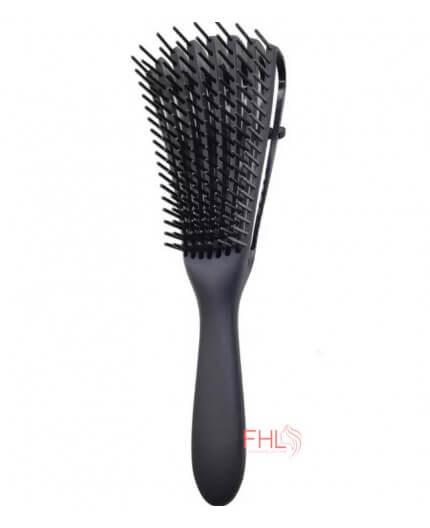 Brosse Démêlant pour Cheveux Bouclés et Afros