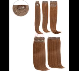 Extensions à Clips Pros 8Pcs Cheveux Naturels Sensationnel