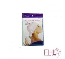 Magic Collection Breathable Cotton Durag Noire
