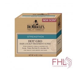 Dr Miracle HOT GRO Hair & Scalp Treatment 113g