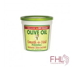 Gel Coiffant Organic Olive Oil Smooth n Hold Pudding (ORS)