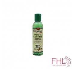Huile Capillaire Organics Olive Oil Olive And Clove Oil Therapy