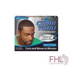 S Curl Comb Thru Texturant à Huile d'Argan