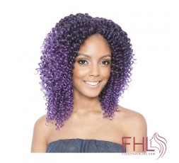 ISIS Caribbean Crochet Braid 2X Water Wave 10\""