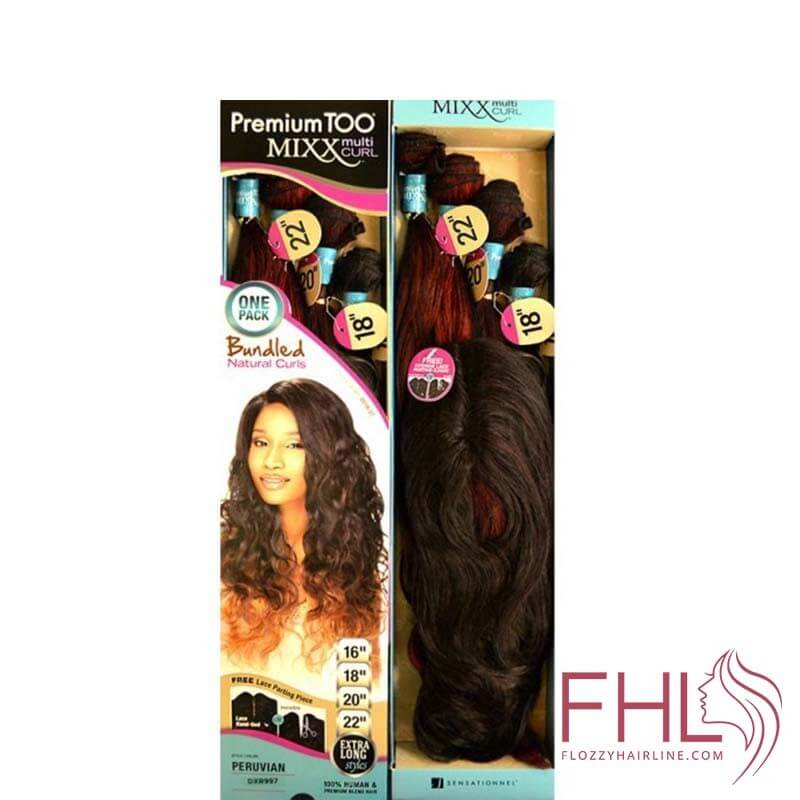 Sensationnel Premium Too Bundle Mixx Tissage Peruvian