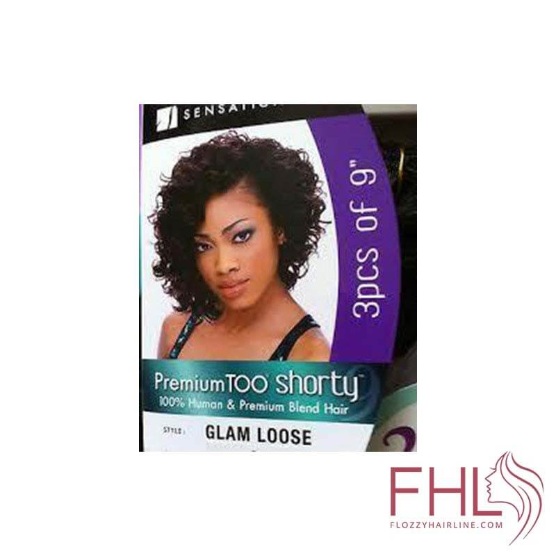 Sensationnel Premium Shorty Tissage Glam Loose