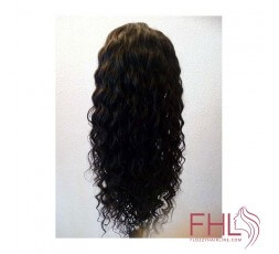 360 Lace Frontal Perruque Wavy 16\""