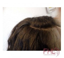 360 Lace Frontal Perruque Lisse 16\""