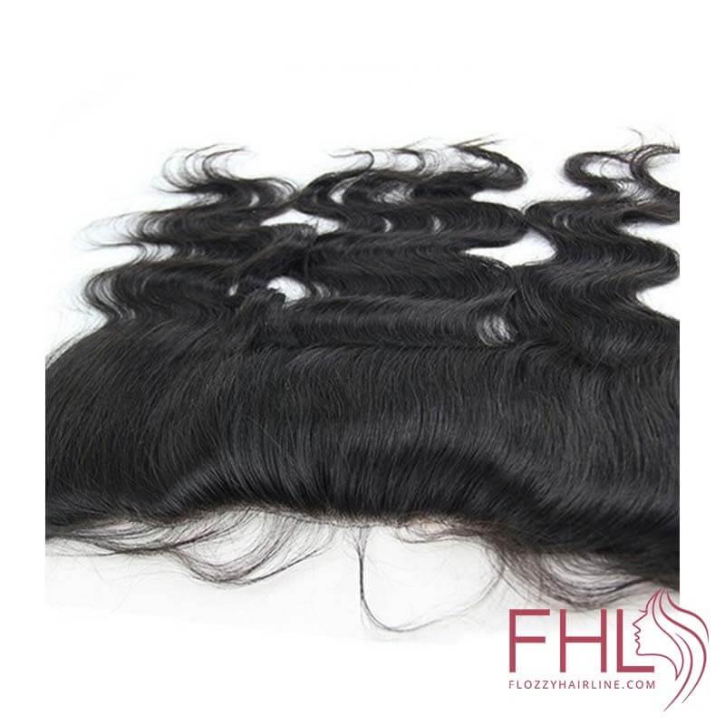 """Lace Frontal 13\\""""x4\\"""" Cheveux Brésiliens Lisse 14\\"""""""