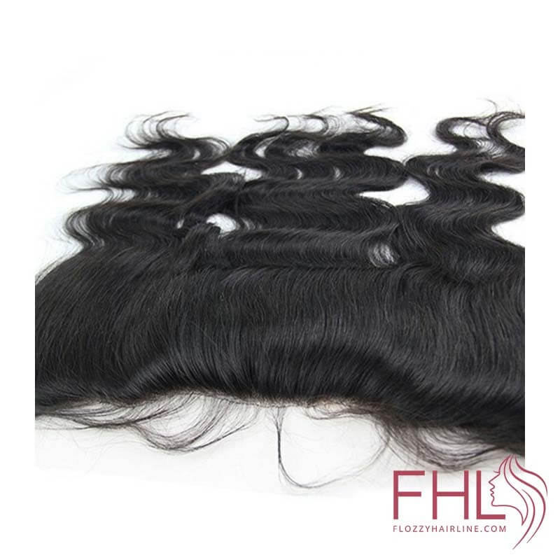 """Lace Frontal 13\\""""x4\\"""" Cheveux Brésiliens Ondulé 14\\"""""""