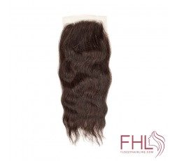 Coiffure Sensationnel Brazilian Closure 4x4 Wavy 12""