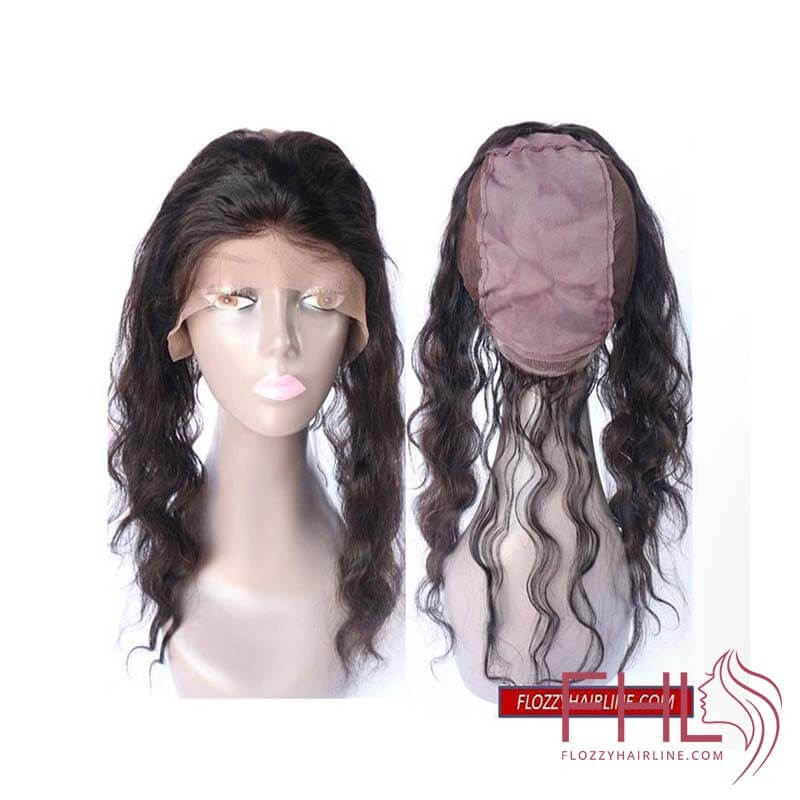 Lace Frontal 360 Wig Cap 16\""