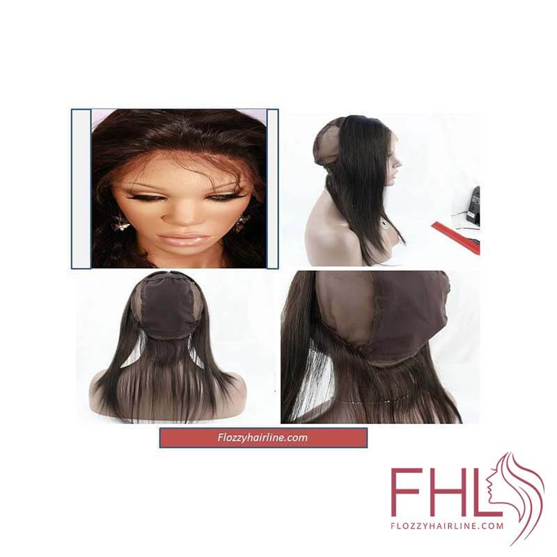 """Lace Frontal 360 Wig Cap Lisse 12\\"""""""