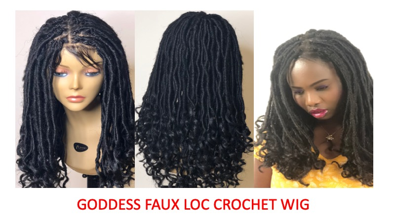How to make a crochet faux locs wig