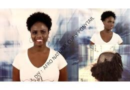 Comment Fabriquer un Postiche Afro en 10mins