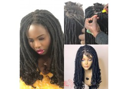 COMMENT FAIRE CROCHET FAUX LOCS LACE PERRUQUE