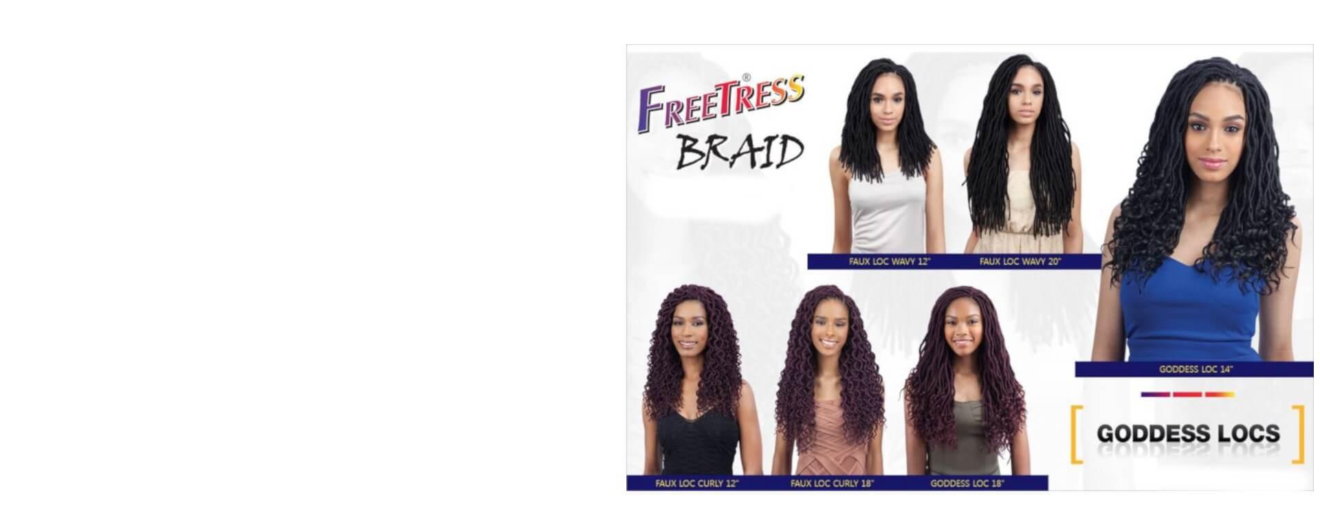 Freetress Goddess Locs Crochet Braids